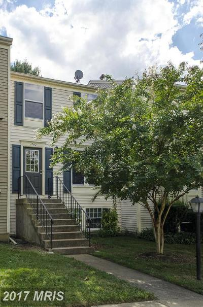 Reston Townhouse For Sale: 1740 Sundance Drive
