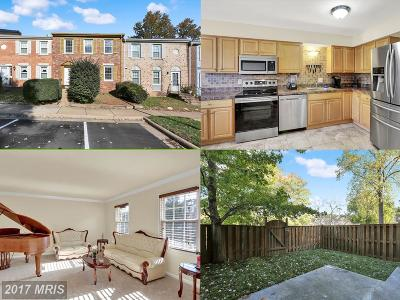 Lorton Townhouse For Sale: 7816 Stovall Court
