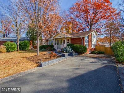 Alexandria Single Family Home For Sale: 5605 Asbury Court