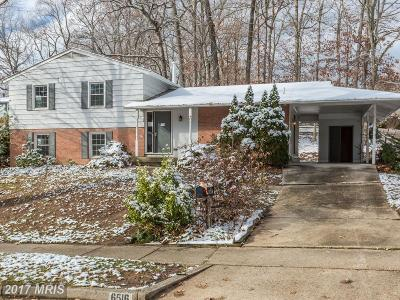 Springfield Single Family Home For Sale: 6516 Rivington Road