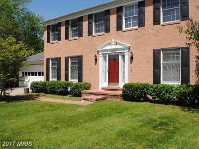 Reston Single Family Home For Sale: 12712 Roark Court
