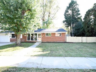 Vienna Single Family Home For Sale: 1203 Cottage Street SW