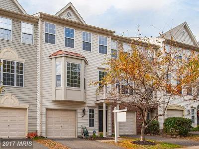 Centreville Townhouse For Sale: 6320 James Harris Way