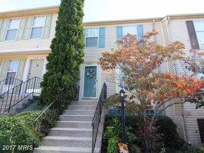 Centreville Townhouse For Sale: 13937 Winding Ridge Lane