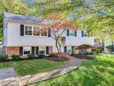 Alexandria Single Family Home For Sale: 7509 Wexford Place