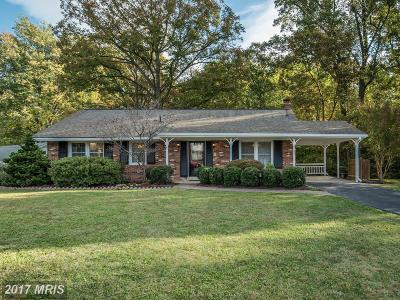 Fairfax VA Single Family Home For Sale: $574,500