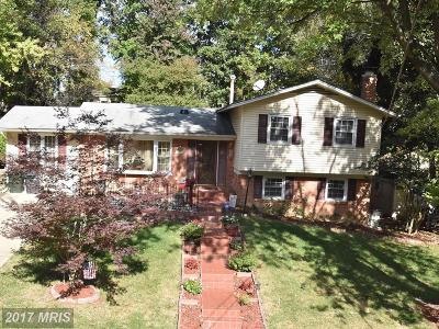 Springfield Single Family Home For Sale: 6211 Greeley Boulevard