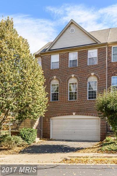 Fairfax Townhouse For Sale: 4169 Vernoy Hills Road