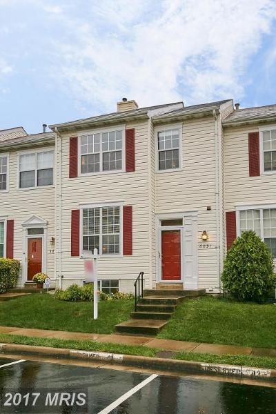 Alexandria Townhouse For Sale: 6891 Signature Circle