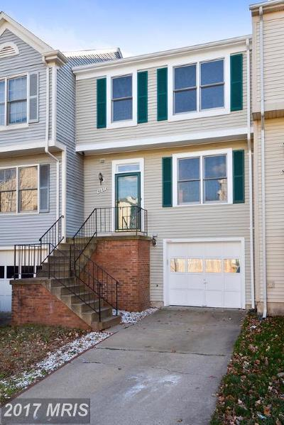 Centreville Townhouse For Sale: 5837 Watermark Circle