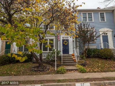 Centreville VA Townhouse For Sale: $375,000