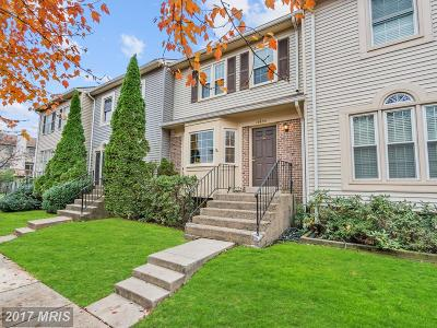 Centreville Townhouse For Sale: 14633 Stone Range Drive