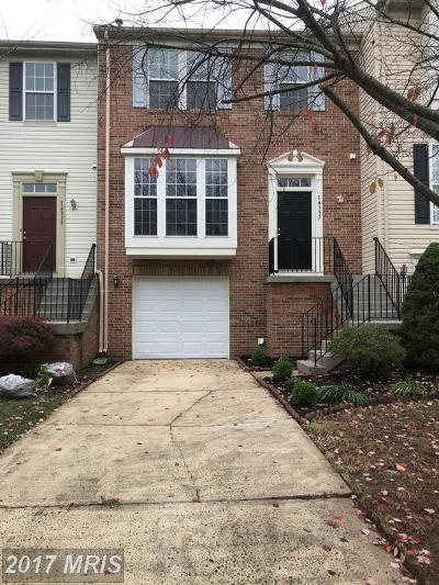 Centreville Townhouse For Sale: 14337 Stonewater Court