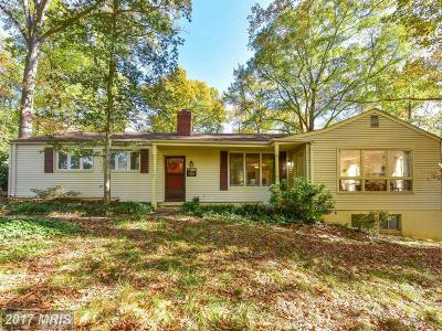 Alexandria Single Family Home For Sale: 7700 Tauxemont Road