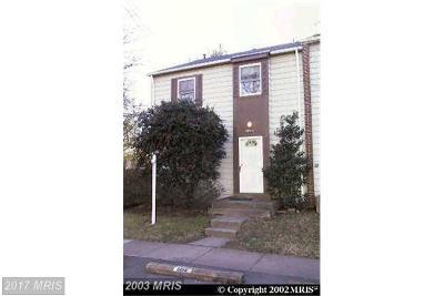 Burke Townhouse For Sale: 5014 Tibbitt Lane