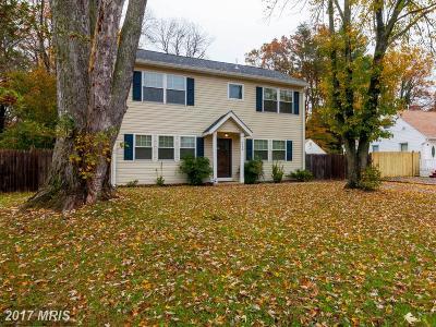 Falls Church Single Family Home For Sale: 6648 Barrett Road