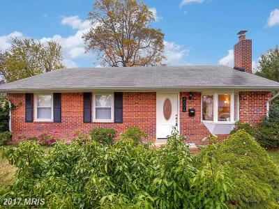 Alexandria Single Family Home For Sale: 4006 Braddock Road