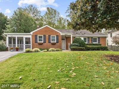 Mclean Single Family Home For Sale: 6527 Fairlawn Drive
