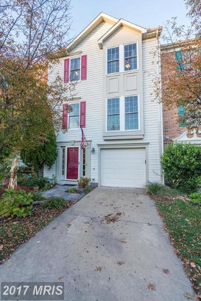 Centreville Townhouse For Sale: 6308 Meadow Glade Lane