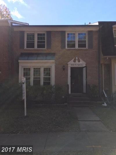 Springfield Townhouse For Sale: 8985 Omega Court