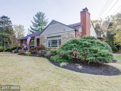 Falls Church Single Family Home For Sale: 6007 Lebanon Drive