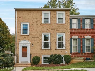 Oakton Rental For Rent: 3201 White Flint Court