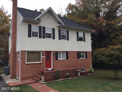 Falls Church Single Family Home For Sale: 3320 Slade Run Drive