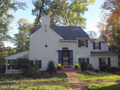 Alexandria Single Family Home For Sale: 3419 Woodside Road