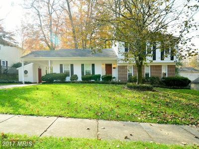 Burke Single Family Home For Sale: 5912 Crossin Court