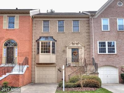 Fairfax Townhouse For Sale: 4668 Luxberry Drive