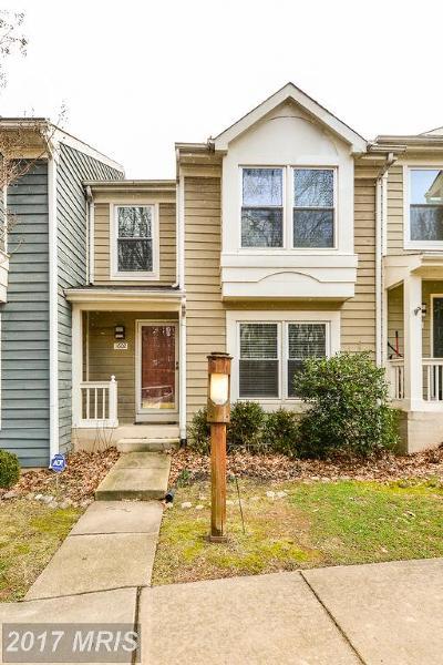 Reston Rental For Rent: 1602 Oak Spring Way