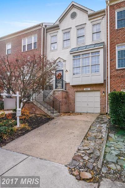 Alexandria Townhouse For Sale: 6653 Dunwich Way