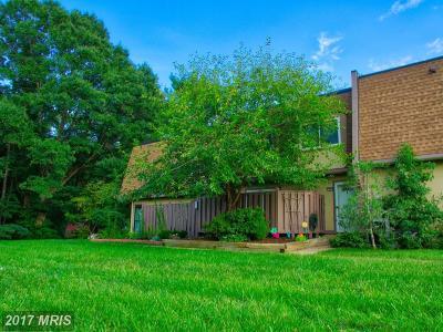 Fairfax, Fairfax City Townhouse For Sale: 7934 Silverada Place #D
