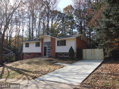 Fairfax Single Family Home For Sale: 4972 Swinton Drive