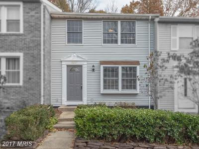 Springfield Townhouse For Sale: 8607 Spring Creek Court