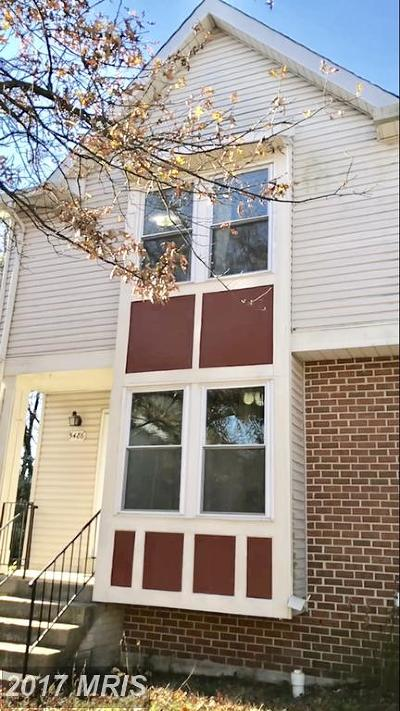 Burke Townhouse For Sale: 5486 Stavendish Street