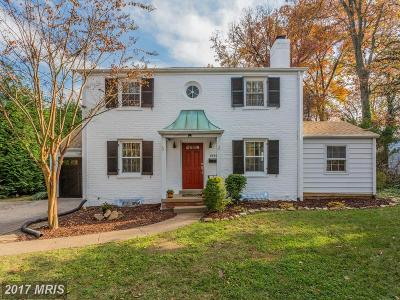 Falls Church Single Family Home For Sale: 6805 Haycock Road