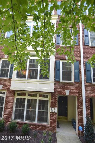 Fairfax Rental For Rent: 4651 Battenburg Lane #1031