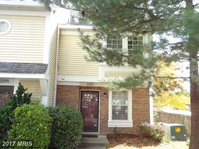 Falls Church Townhouse For Sale: 3397 Lakeside View Drive #20-8