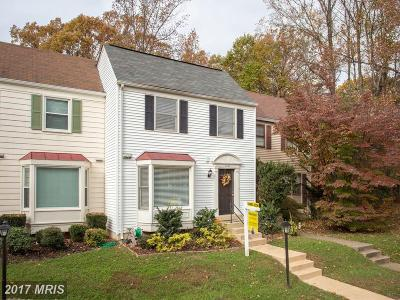 Alexandria Townhouse For Sale: 6602 Birchleigh Way