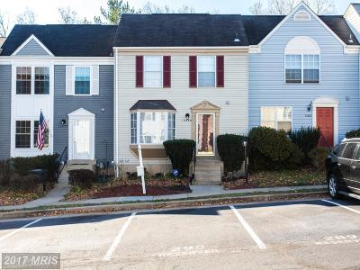 Centreville Townhouse For Sale: 13859 Laura Ratcliff Court