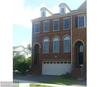 Centreville Townhouse For Sale: 13431 Wood Lilly Lane