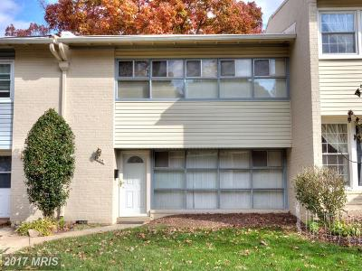 Annandale Townhouse For Sale: 4717 Parkman Court