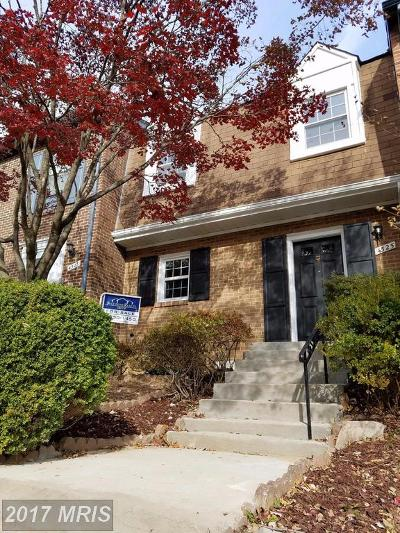Annandale VA Townhouse For Sale: $429,800