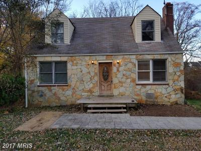 Annandale Single Family Home For Sale: 4624 Columbia Road