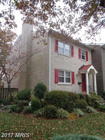 Falls Church VA Townhouse For Sale: $494,500