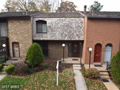 Annandale Townhouse For Sale: 4922 Herkimer Street