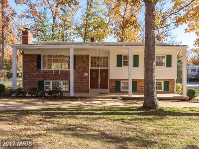 Alexandria Single Family Home For Sale: 9011 Cherrytree Drive