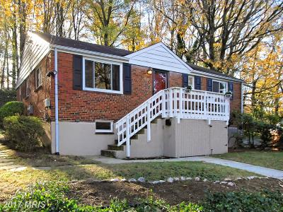 Falls Church Single Family Home For Sale: 7203 Arthur Drive