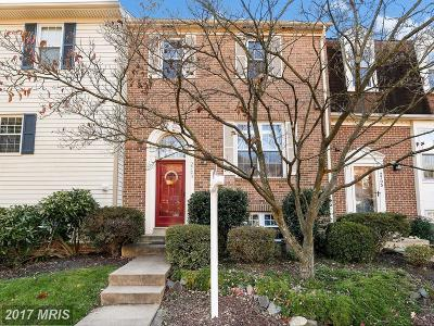 Alexandria Townhouse For Sale: 2703 Woodwalk Court